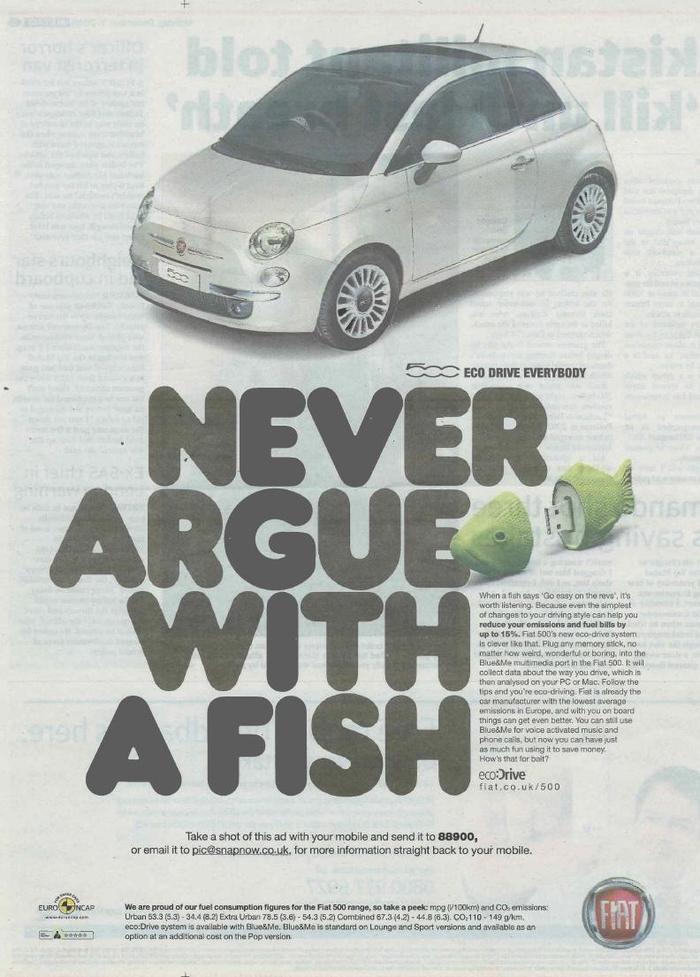 Fiat fish